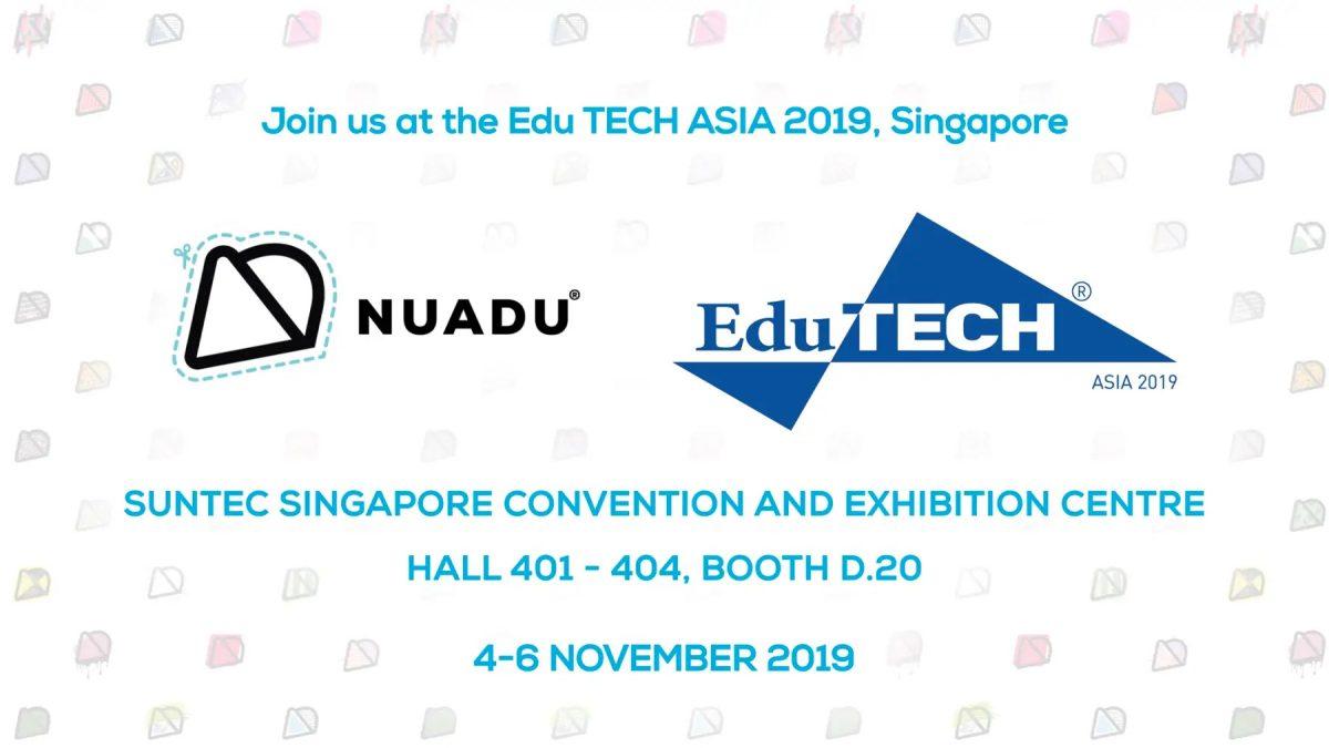 join NUADU at EduTECH Asia