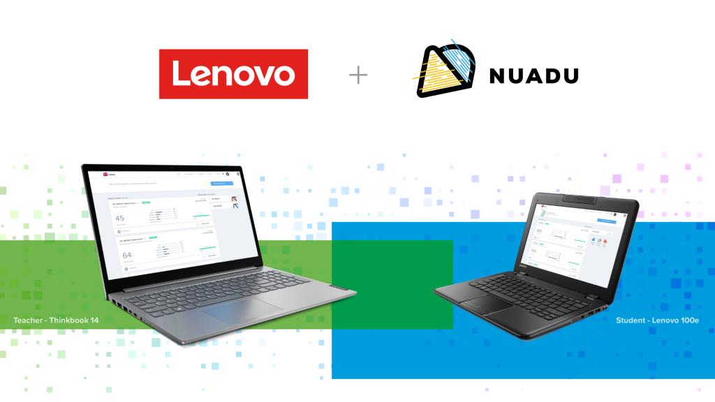lenovo laptops and nuadu learning platform indonesia